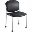 Diaz Guest Chair - Black Vinyl
