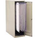 """Small Vertical Storage Cabinet for 18"""" and 24"""" Hanging Clamps"""
