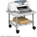 Under-Desk Printer/Fax Stand - Gray