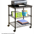 Safco® 5207BL Deskside Wire Machine Stand - Black