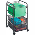 Safco® Onyx™ Mesh Open File with Drawers