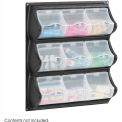 9 Pocket Panel Bins - Black