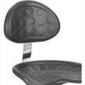 Safco® Polyurethane Stool Back - Black