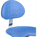 Safco® Polyurethane Stool Back - Blue