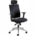 Tez™ Manager Chair with Headrest, Black
