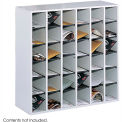 36 Compartment Wooden Mail Sorter
