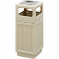 Canmeleon™ Recessed Panel, Ash Urn, Side Open, 15 Gallon, Tan