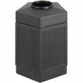 Canmeleon™ Indoor/Outdoor, 45 Gallon Pentagon Black - 9486BL