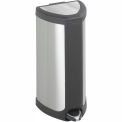 Step-On 4 Gallon Stainless Receptacle - Stainless Steel