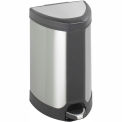 Step-On 7 Gallon Stainless Receptacle - Stainless Steel