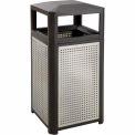 Evos™ Series Steel Garbage Can, 38 Gallon - 9934BL