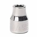 """Craftsman® Industrial™ 9-22014 9/32"""" Socket, 6 Pt., Standard, Inch, 1/4"""" Drive"""