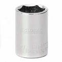 """Craftsman® Industrial™ 9-22019 7/16"""" Socket, 6 Pt., Standard, Inch, 1/4"""" Drive"""