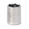 """Craftsman® Industrial™ 9-2202 1/2"""" Socket, 6 Pt., Standard, Inch, 1/4"""" Drive"""