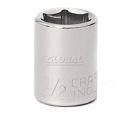 """Craftsman® Industrial™ 9-23075 1/2"""" Socket, 6 Pt., Standard, Inch, 3/8"""" Drive"""
