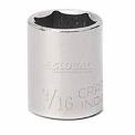 """Craftsman® Industrial™ 9-23076 9/16"""" Socket, 6 Pt., Standard, Inch, 3/8"""" Drive"""