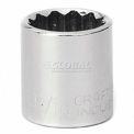 """Craftsman® Industrial™ 9-23123 11/16"""" Socket 12 Pt., Standard, Inch, 3/8"""" Drive"""