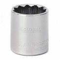 """Craftsman® Industrial™ 9-23124 3/4"""" Socket, 12 Pt., Standard, Inch, 3/8"""" Drive"""
