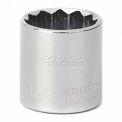 """Craftsman® Industrial™ 9-23125 13/16"""" Socket 12 Pt., Standard, Inch, 3/8"""" Drive"""