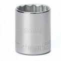 "Craftsman® Industrial™ 9-2437 25mm Socket, 12 Pt., Standard, Metric, 1/2"" Drive"
