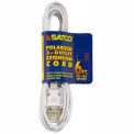 Satco 93-192 6 Ft. Extension Cord 16/2 SPT-2, White
