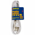 Satco 93-196 12 Ft. Extension Cord 16/2 SPT-2, White