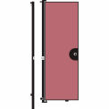 Screenflex 8'H Door - Mounted to End of Room Divider - Mauve