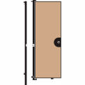 Screenflex 8'H Door - Mounted to End of Room Divider - Wheat