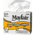Sellars® Mayfair® Z200 White Interfold Towels, 200 Sheets/Box, 8 Boxes/Case 14200