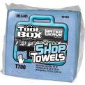 Sellars® Toolbox® T700 Blue Shop Towels 1/4 Fold, 38 Sheets/Bundle, 16 Bundles/Case 78150