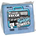 Sellars® Toolbox® T800 Blue Shop Towels 1/4 Fold, 30 Sheets/Bundle, 16 Bundles/Case 88150