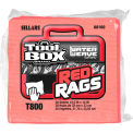 Sellars® Toolbox® T800 Red Rags 1/4 Fold, 30 Sheets/Bundle, 16 Bundles/Case 88160