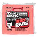 Sellars® Toolbox® T800 Red Rags 1/4 Fold, 30 Sheets/Bundle, 16 Bundles/Case 88160