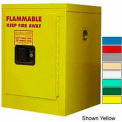 Securall® 4-Gallon, Manual Close, Flammable Cabinet White