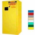 Securall® 16-Gallon, Manual Close, Flammable Cabinet Yellow
