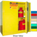 Securall® 43x18x44 30-Gallon, Manual Close, Flammable Cabinet Ag Green