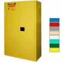 Securall® 45-Gallon, Manual Close, Flammable Cabinet Yellow