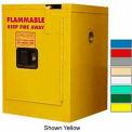 Securall® 4-Gallon, Self-Close Flammable Cabinet White