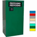 Securall® 12-Gallon Self-Close, Pesticide Cabinet Ag Green