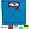 Securall® 30-Gallon, Self-Close, Acid & Corrosive Cabinet Md Green