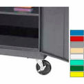 """FACTORY INSTALLED Securall® Caster Assembly for Cabinets 34"""" in Depth"""