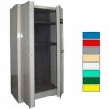 Securall® Radius 24 Gun Cabinet, Digital Lock, Carpet Lined Shelf Gray