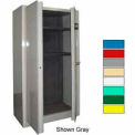 Securall® Radius 24 Gun Cabinet, Digital Lock,Carpet Lined Shelf Md Green