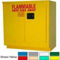 Securall® 24-Gallon Manual Close, Laboratory Cabinet Ag Green