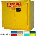 Securall® 24-Gallon Manual Close, Laboratory Cabinet Md Green