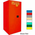 Securall® 120-Gallon Manual Close, Paint/Ink Cabinet Yellow