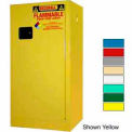 Securall® 20-Gallon Manual Close, Paint/Ink Cabinet Ag Green