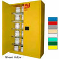 Securall® 60-Gallon Manual Close, Paint/Ink Cabinet Md Green