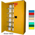 Securall® 60-Gallon, Self-Close,Paint/Ink Cabinet Beige