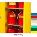 "Securall® Extra Shelf for 30 Gallon 36"" Wide Cabinet Yellow"